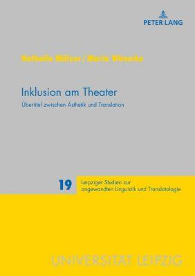 Inklusion am Theater, Nathalie Mälzer, Maria Wünsche