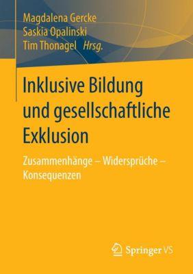 Inklusive Bildung und gesellschaftliche Exklusion -  pdf epub