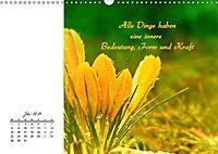 Innehalten in der Natur ... mit Weisheiten und Sprichworten der Indianer (Wandkalender 2019 DIN A3 quer) - Produktdetailbild 7