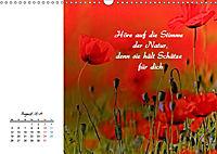 Innehalten in der Natur ... mit Weisheiten und Sprichworten der Indianer (Wandkalender 2019 DIN A3 quer) - Produktdetailbild 8