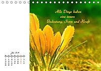 Innehalten in der Natur ... mit Weisheiten und Sprichworten der Indianer (Tischkalender 2019 DIN A5 quer) - Produktdetailbild 7