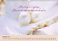 Inner Pearls for Body and Being (Wall Calendar 2019 DIN A3 Landscape) - Produktdetailbild 1