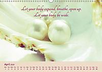 Inner Pearls for Body and Being (Wall Calendar 2019 DIN A3 Landscape) - Produktdetailbild 4