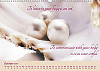 Inner Pearls for Body and Being (Wall Calendar 2019 DIN A3 Landscape) - Produktdetailbild 10