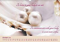 Inner Pearls for Body and Being (Wall Calendar 2019 DIN A3 Landscape) - Produktdetailbild 10