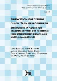 Innovationsförderung durch Transferagenturen -  pdf epub