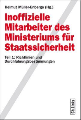 Inoffizielle Mitarbeiter des Ministeriums für Staatssicherheit, Helmut Müller-Enbergs