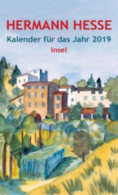 Insel-Kalender für das Jahr 2019, Hermann Hesse
