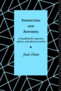 Inspecting and Advising, Joan Dean, Mrs Joan Dean