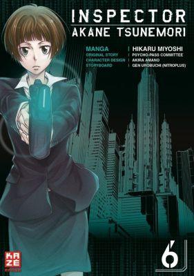 Inspector Akane Tsunemori (Psycho-Pass), Gen Urobuchi, Hikaru Miyoshi
