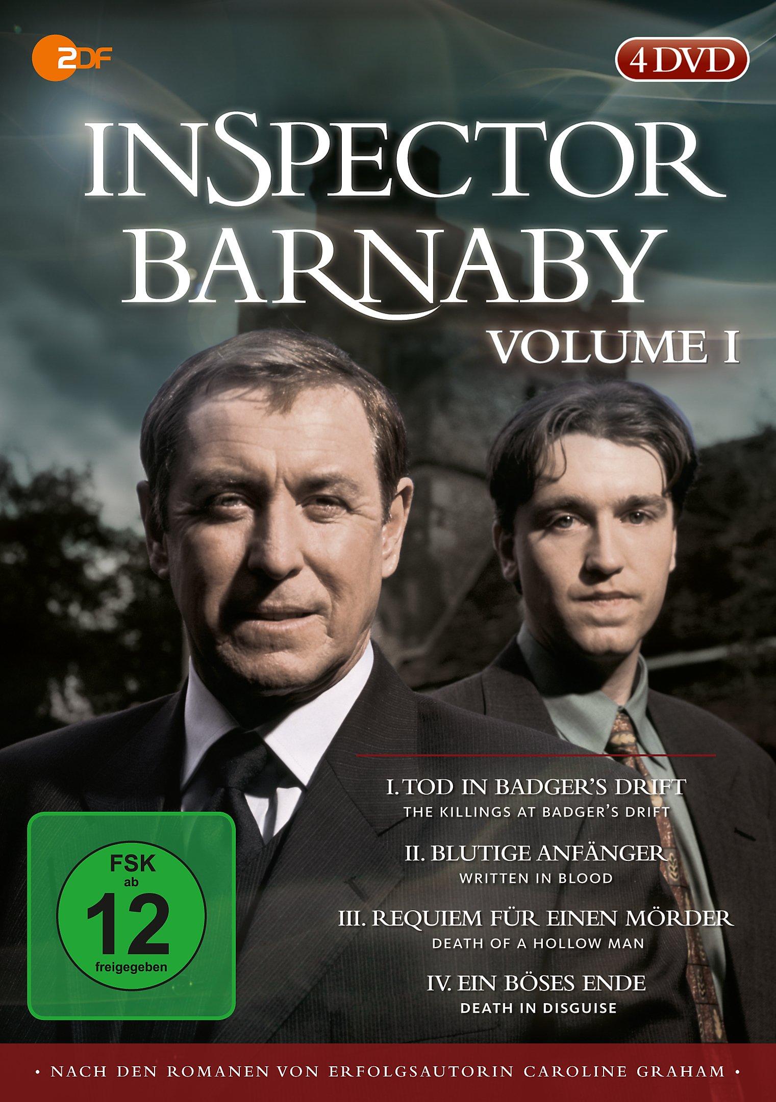 Inspector Barnaby Vol 1 Dvd Bei Weltbildat Bestellen