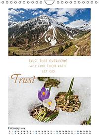 Inspiration for your Journey (Wall Calendar 2019 DIN A4 Portrait) - Produktdetailbild 2