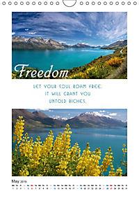 Inspiration for your Journey (Wall Calendar 2019 DIN A4 Portrait) - Produktdetailbild 5