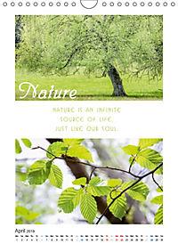 Inspiration for your Journey (Wall Calendar 2019 DIN A4 Portrait) - Produktdetailbild 4