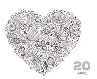 Inspiration fürs ganze Jahr, Mein Tageskalender zum Ausmalen - Produktdetailbild 1