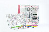 Inspiration Traumreise: 50 Ausmalmotive für mehr Entspannung und Achtsamkeit, m. 8 Faber-Castell-Buntstiften - Produktdetailbild 1