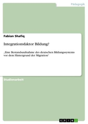 Integrationsfaktor Bildung?, Fabian Shafiq