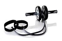 Intensiv-Bauchweg-Roller, inklusive Kniematte - Produktdetailbild 1