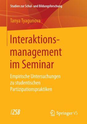 Interaktionsmanagement im Seminar - Tanya Tyagunova pdf epub