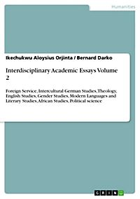 interdisciplinary academic essays The interdisciplinary writing assessment profiles are not intended as a substitute for academic evaluation, one-on-one feedback to individual writers, or grading rather, it is a.