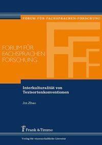 Interkulturalität von Textsortenkonventionen, Jin Zhao