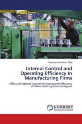 Internal Control and Operating Efficiency In Manufacturing Firms, Sylvester Ikechukwu Ejike
