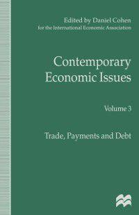 International Economic Association Series: Contemporary Economic Issues