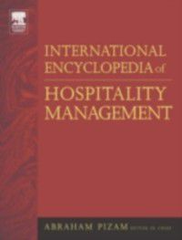 International Encyclopedia of Hospitality Management, Abraham Pizam