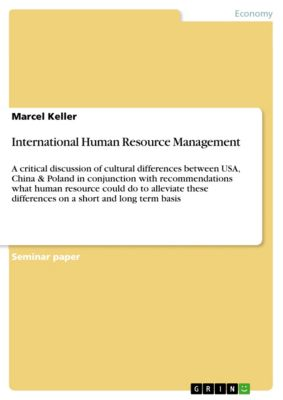 International Human Resource Management, Marcel Keller
