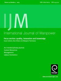 International Journal of Manpower: International Journal of Manpower, Volume 24, Issue 5