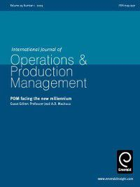 International Journal of Operations & Production Management: International Journal of Operations & Production Management, Volume 23, Issue 1