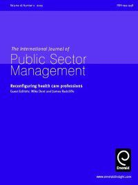 International Journal of Public Sector Management: International Journal of Public Sector Management, Volume 16, Issue 2