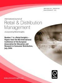 International Journal of Retail & Distribution Management: International Journal of Retail & Distribution Management, Volume 33, Issue 7