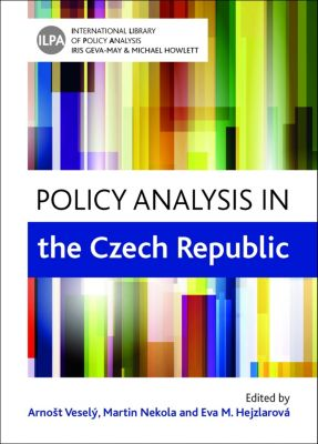 International Library of Policy Analysis: Policy analysis in the Czech Republic