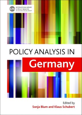 International Library of Policy Analysis: Policy analysis in Germany