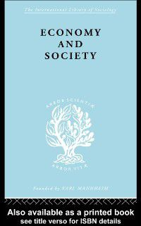 International Library of Sociology: Economy and Society, Neil Smelser, Talcot Parsons