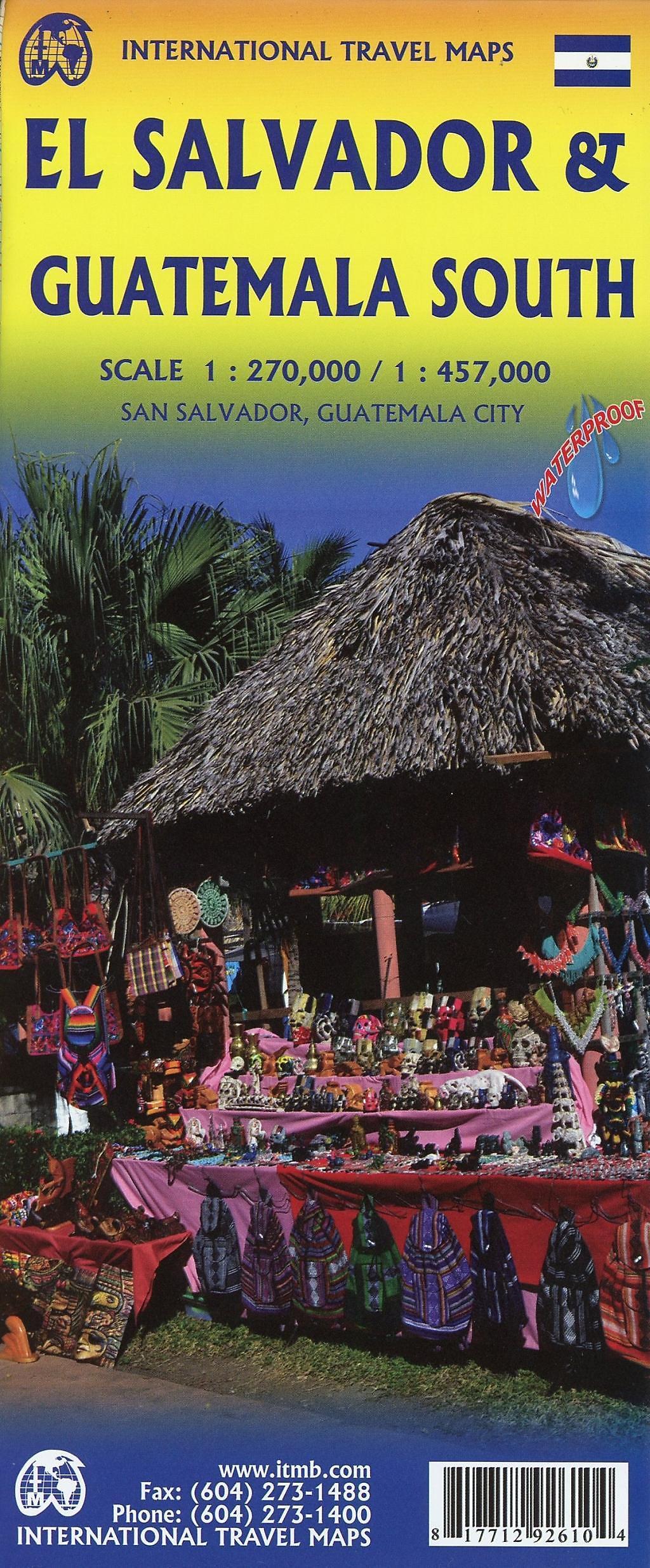 International Travel Map ITM El Salvador Buch portofrei bestellen