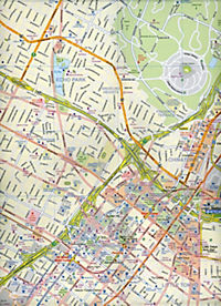 International Travel Map ITM Stadtplan Los Angeles - Produktdetailbild 1