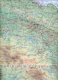 International Travel Map ITM Touristik Karte Dominican Republic & Haiti - Produktdetailbild 1