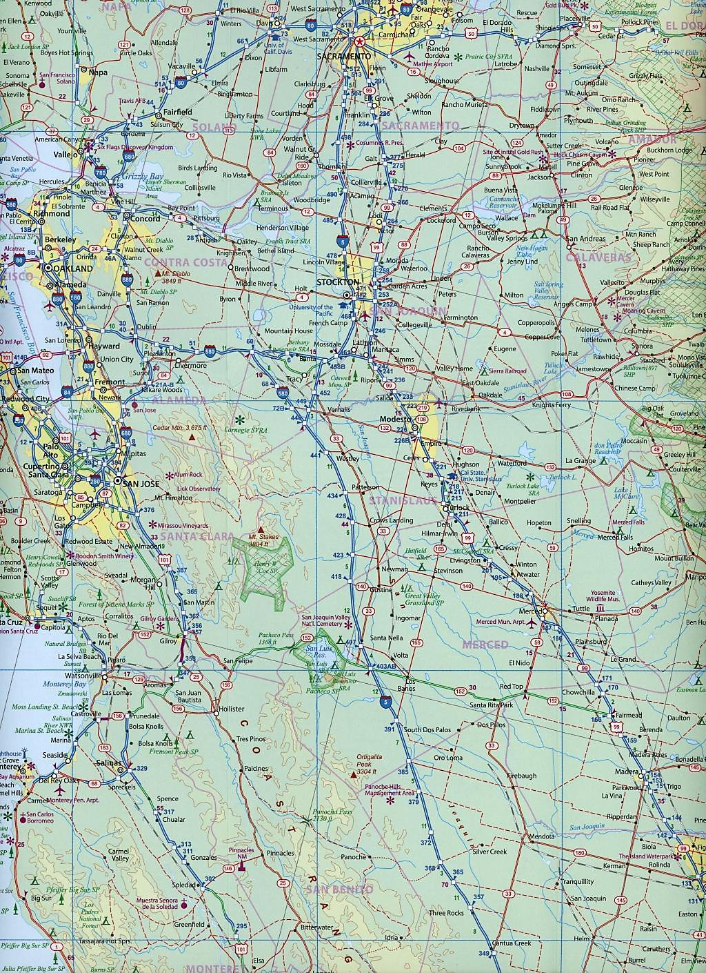 International Travel Map ITM USA Southwest Buch portofrei
