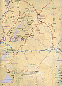 International Travel Map ITM Utah & Colorado Buch portofrei