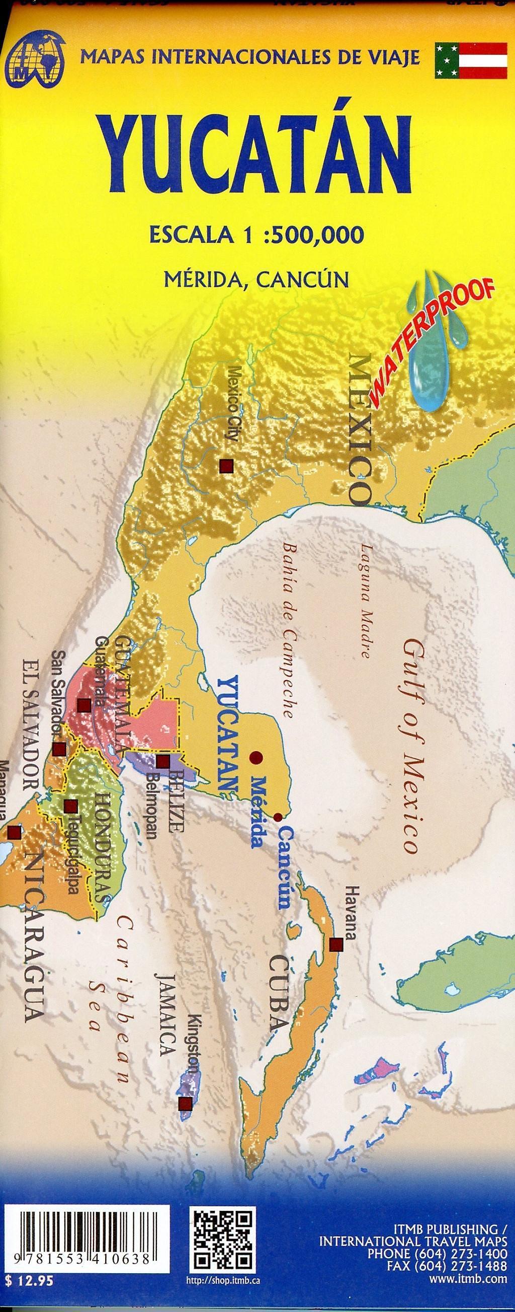 International Travel Map ITM Yucatan Buch bestellen ...