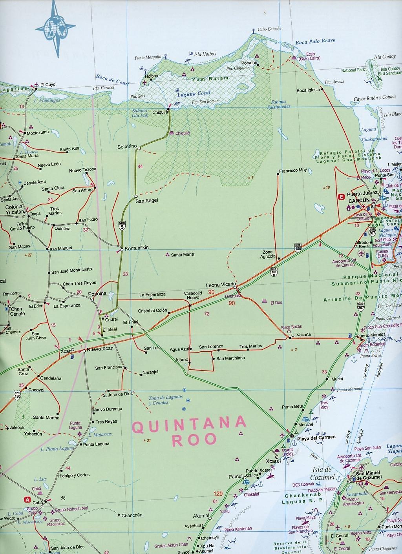 International Travel Map ITM Yucatan Buch bestellen - Weltbild.ch