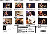 Internationale Meister des Jazz in Farbe (Wandkalender 2019 DIN A3 quer) - Produktdetailbild 13