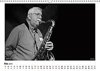 Internationale Meister des Jazz in Schwarzweiß (Wandkalender 2019 DIN A3 quer) - Produktdetailbild 3
