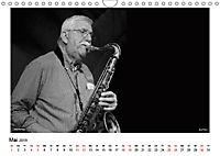 Internationale Meister des Jazz in Schwarzweiss (Wandkalender 2019 DIN A4 quer) - Produktdetailbild 5