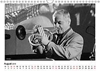 Internationale Meister des Jazz in Schwarzweiss (Wandkalender 2019 DIN A4 quer) - Produktdetailbild 8