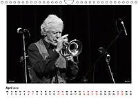 Internationale Meister des Jazz in Schwarzweiss (Wandkalender 2019 DIN A4 quer) - Produktdetailbild 4
