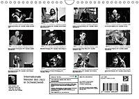 Internationale Meister des Jazz in Schwarzweiss (Wandkalender 2019 DIN A4 quer) - Produktdetailbild 13
