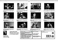 Internationale Meister des Jazz in Schwarzweiss (Wandkalender 2019 DIN A3 quer) - Produktdetailbild 13